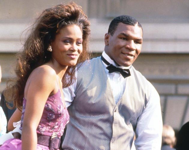 Mike Tyson: Er erwischte Noch-Frau Robin Givens in flagranti mit Brad Pitt! (Bild: Getty Images)