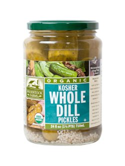 Woodstock Organic Kosher Dill Pickles