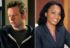 Dallas Roberts; Anika Noni Rose | Photo Credits: Jeffrey Neira/CBS; David M. Russell/CBS