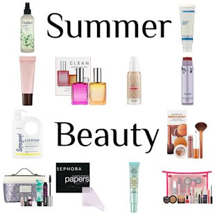 The top 10 beauty picks for summer