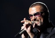 "British pop singer George Michael, pictured here on September 9, cancelled his Australian tour on Sunday revealing that he was battling ""major anxiety"" after a severe bout of pneumonia that he says almost killed him"