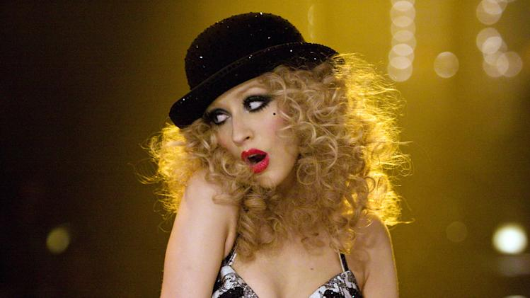 "Christina Aguilera in ""Burlesque"""