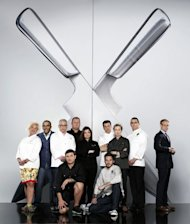 Competitors in 'The Next Iron Chef,' a show that tapped, well, the next Iron Chef in the US