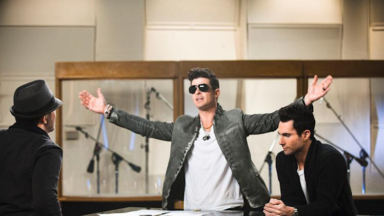 The Voice Celebrity Mentors, Robin Thicke