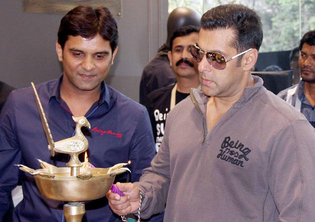 Salman launches 'Being Human' store
