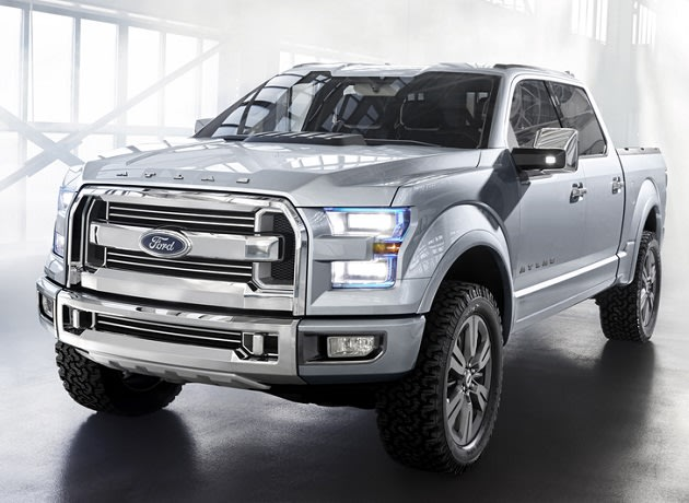 Is this the future of Ford's storied F-150, North America's most popular vehicle? [Click to take a closer look.]