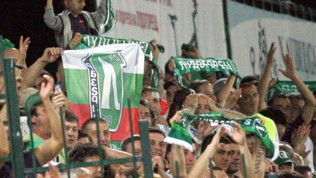 European Football - Rock concert forces Ludogorets to seek Champions League venue abroad