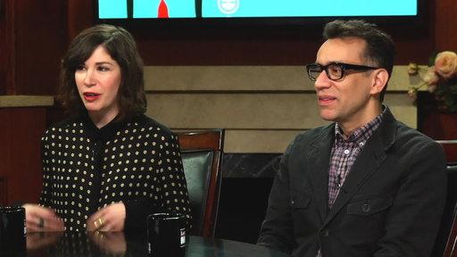 Fred Armisen & Carrie Brownstein Have a Portlandia Character for Larry