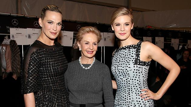 Molly Sims, Carolina Herrera, Maggie Grace