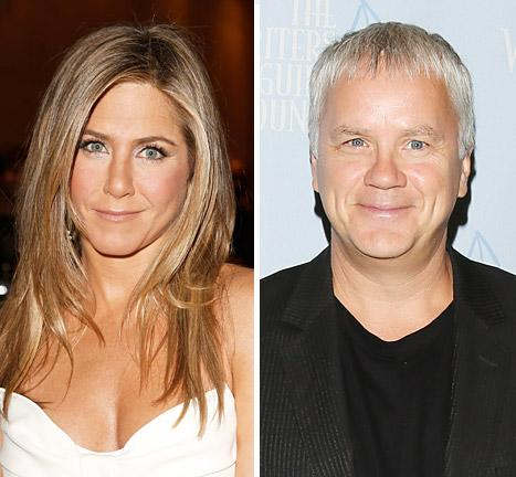 Jennifer Aniston's Next Movie Husband Will Be Tim Robbins