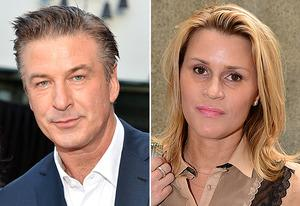 Alec Baldwin, Genevieve Sabourin | Photo Credits: Alberto E. Rodriguez/Getty Images; Emmanuel Dunand/Getty Images