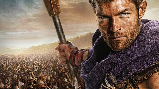 Spartacus: War of the Damned banner