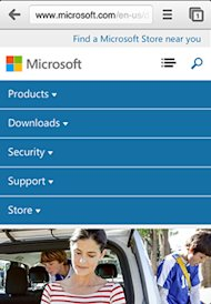 Not All Responsive Web Design is Created Equal image microsoft icon after