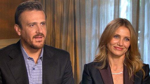 Jason Segel & Cameron Diaz Talk Getting Naked for 'Sex Tape'