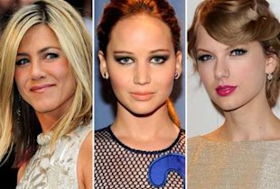 Jennifer Aniston, Jennifer Lawrence, Taylor Swift