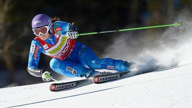 Alpine Skiing - Maze takes giant slalom in Aspen