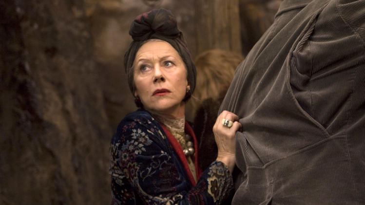 Helen Mirren Inkheart Production Stills New Line 2009