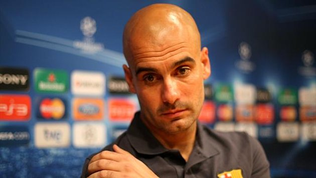 Pep Guardiola left Barcelona last summer