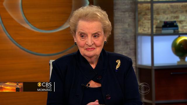 Madeleine Albright: Iran sanctions working