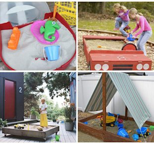 7 creative sandboxes to make for your kids