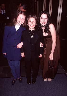 Michelle Trachtenberg , Miko Hughes and Majandra Delfino at the Beverly Hills premiere of Universal's Mercury Rising