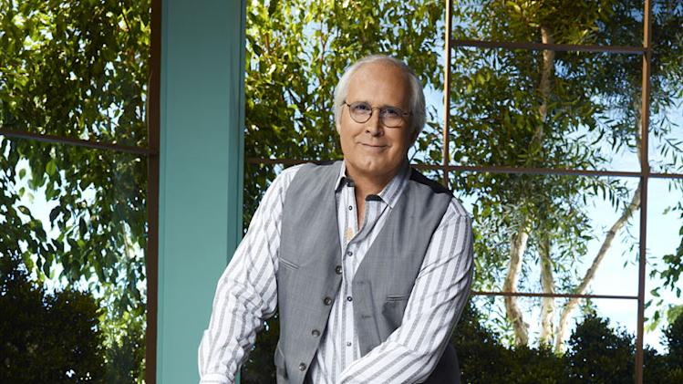 "Chevy Chase stars as Pierce in ""Community."""