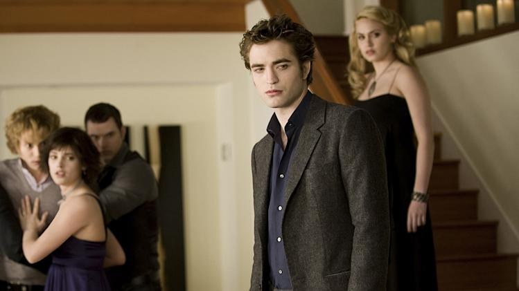 Twilight Saga New Moon Summit Production Photos 2010 Jackson Rathbone Ashley Greene Robert Pattinson Nikki Reed