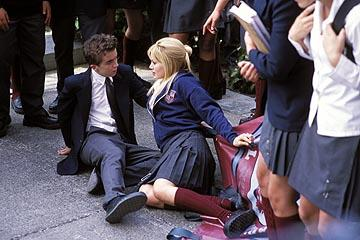 Frankie Muniz and Hilary Duff in MGM's Agent Cody Banks