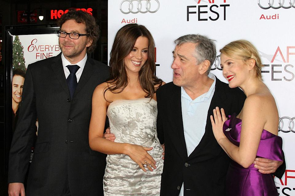 AFI Fest 2009 Everybody's Fine Kirk Jones Kate Beckinsale Drew Barrymore Robert DeNiro