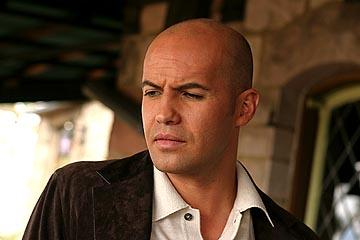 Billy Zane as Chandler Tyson in Newmarket's Silver city