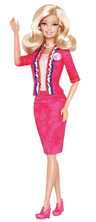 Will you vote for Barbie in 2012?