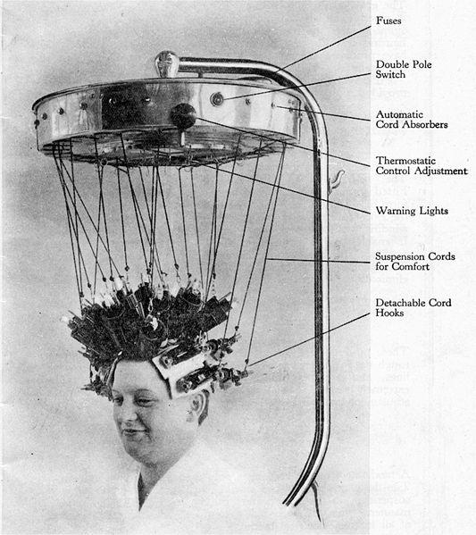 Wireless Perm Machine