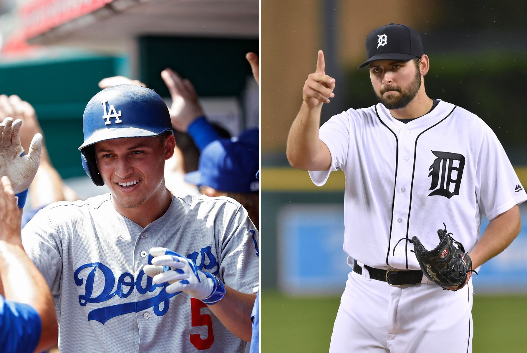 Your 2016 Rookie of the Year winners: Corey Seager and Michael Fulmer (Getty Images)