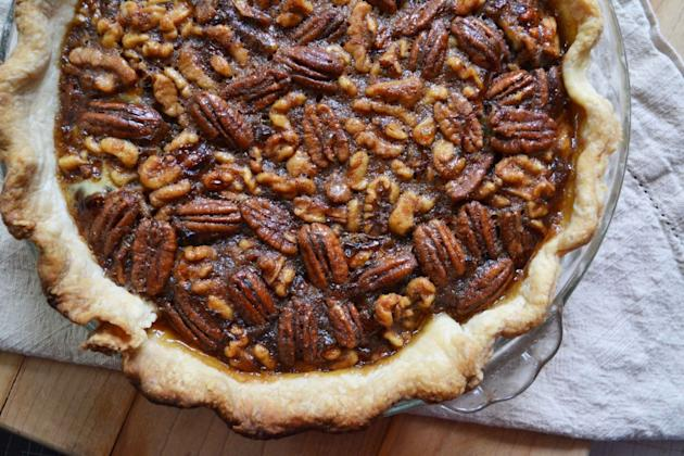 Maple Walnut Pecan Pie