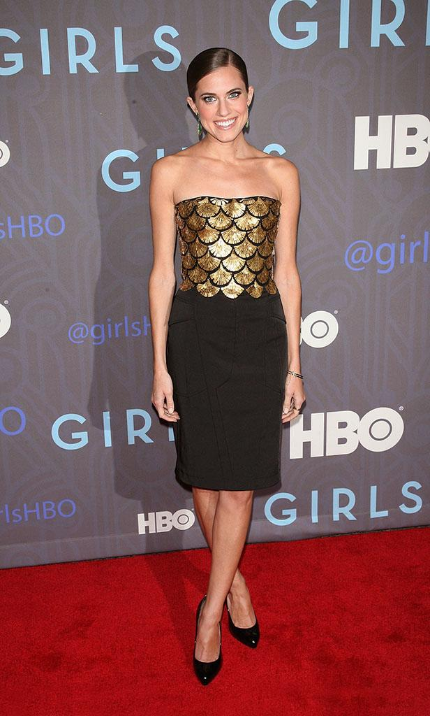 "Cinema Society Presents The World Premiere Of ""Girls"" Season 2 - Outside Arrivals"