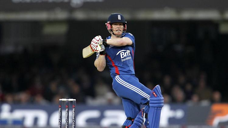 Eoin Morgan, pictured, has the backing of Twenty20 captain Stuart Broad
