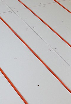 Radiant Heating Technology - Panel Detail