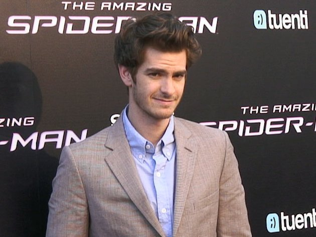 Andrew Garfield es Spiderman