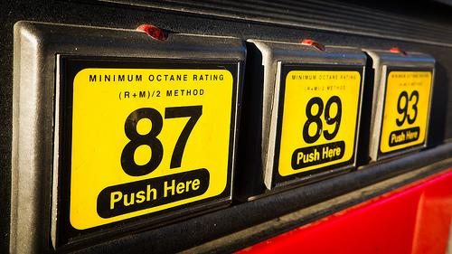 Premium fuel offers better performance.