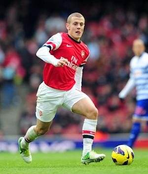 Jack Wilshere was happy to have come through his 60 minutes of playing time