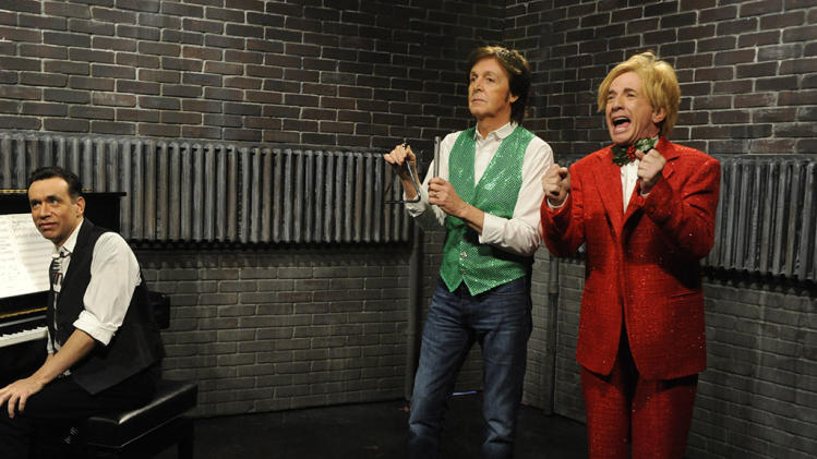 """Saturday Night Live"" -- ""Martin Short / Paul McCartney"""