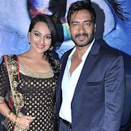 Ajay Devgn To Be Paired With Sonakshi Sinha In Prabhudheva's Flick