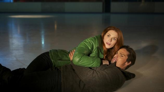 Bridget Regan as Alex and Jay Ryan as Vincent in The CW's 'Beauty and The Beast'  -- The CW