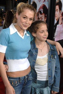 Premiere: Alexa Vega and Makenzie Vega at the Los Angeles premiere of 20th Century Fox's Just My Luck - 5/9/2006