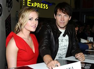 Anna Paquin and Stephen Moyer attend HBO's 'True Blood' Autograph Signing at San Diego Convention Center in San Diego, Calif., on July 22, 2011 -- Getty Images