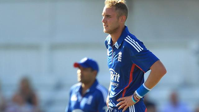 Cricket - Captain Broad out of T20 internationals in India