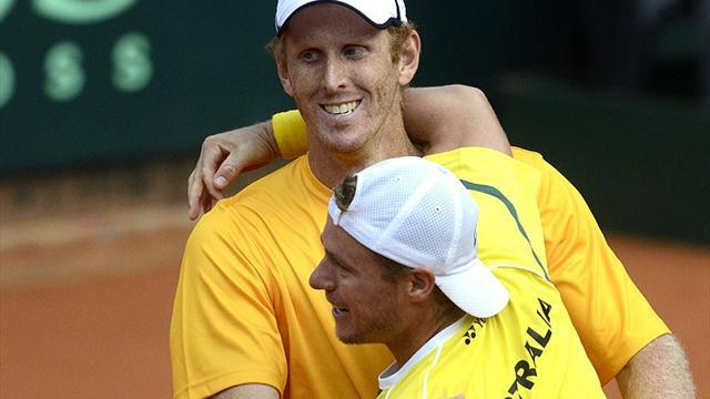 Australia on verge of Davis Cup promotion