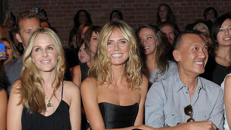 Heidi Klum Fashion Week