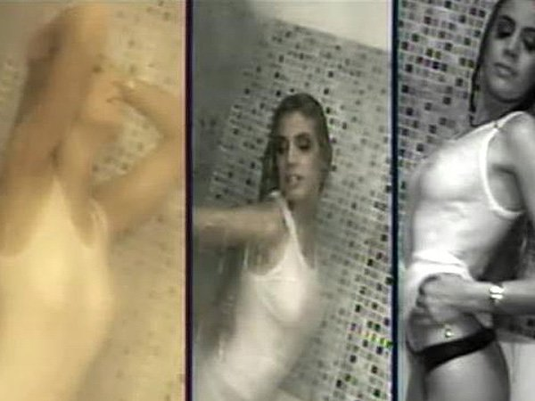 El video hot de Virginia Gallardo en la ducha