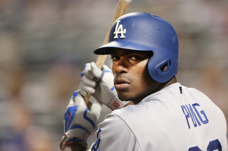 Yasiel Puig is a man on a mission. (Getty Images)